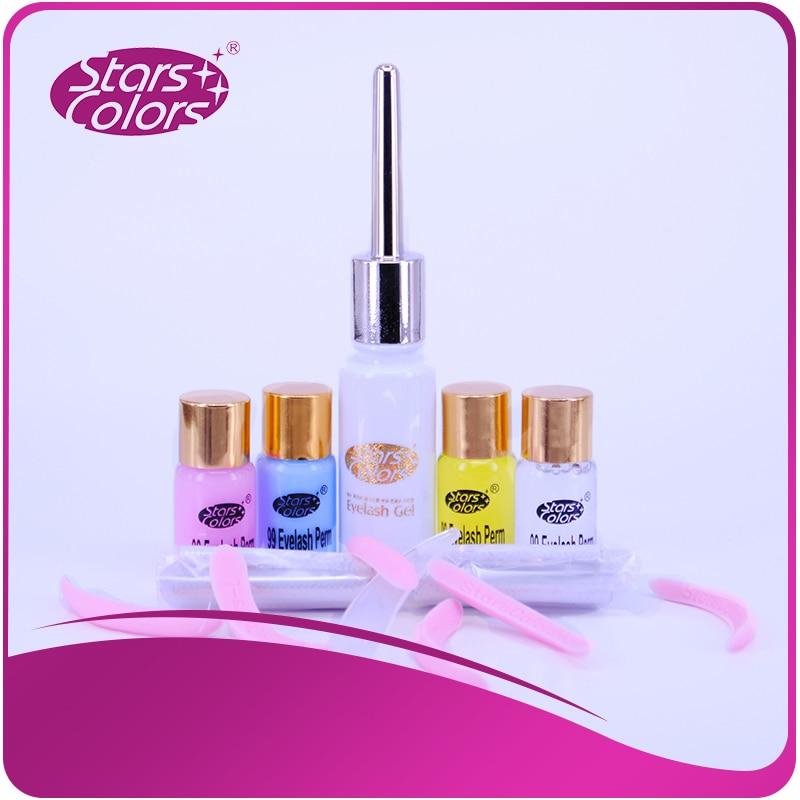 Starscolor Professional 1 set Salon beauty perm lotion for eyelash extension perming kit Perm Fixing Nutrition Cleanser Glue