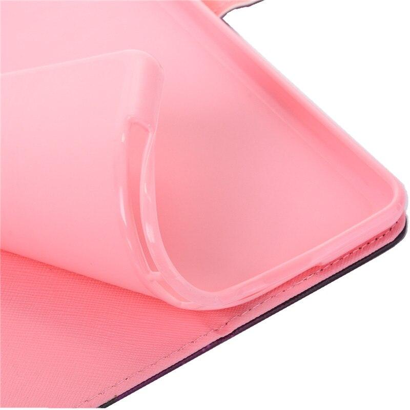 Купить с кэшбэком Wekays Case for Samsung Galaxy Tab A6 7.0 T280 T285 Funda Soft Silicone PU Leather Smart Unicorn Flamingo Tablet Cover Coque