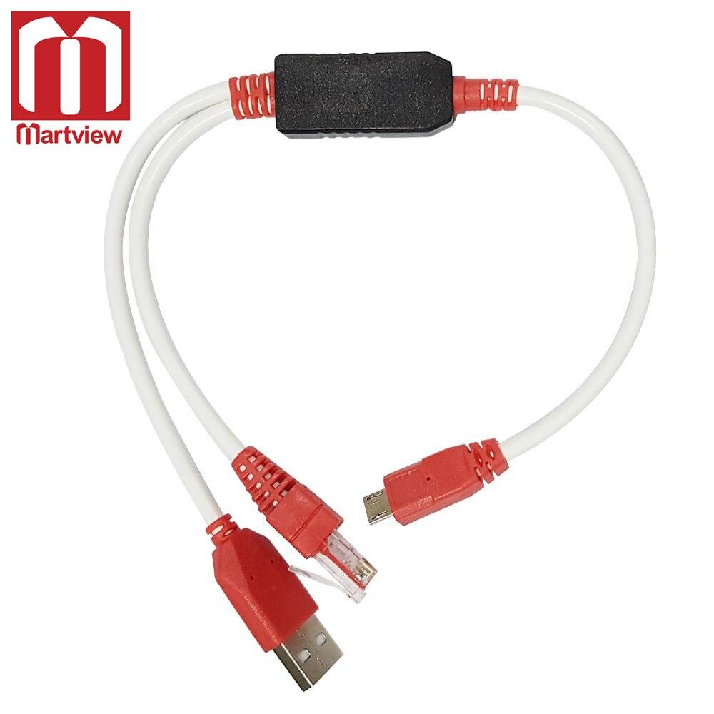 Martview Uart Cable Combo R530 + Cable USB para Z3X Sam caja de Samsung S8300
