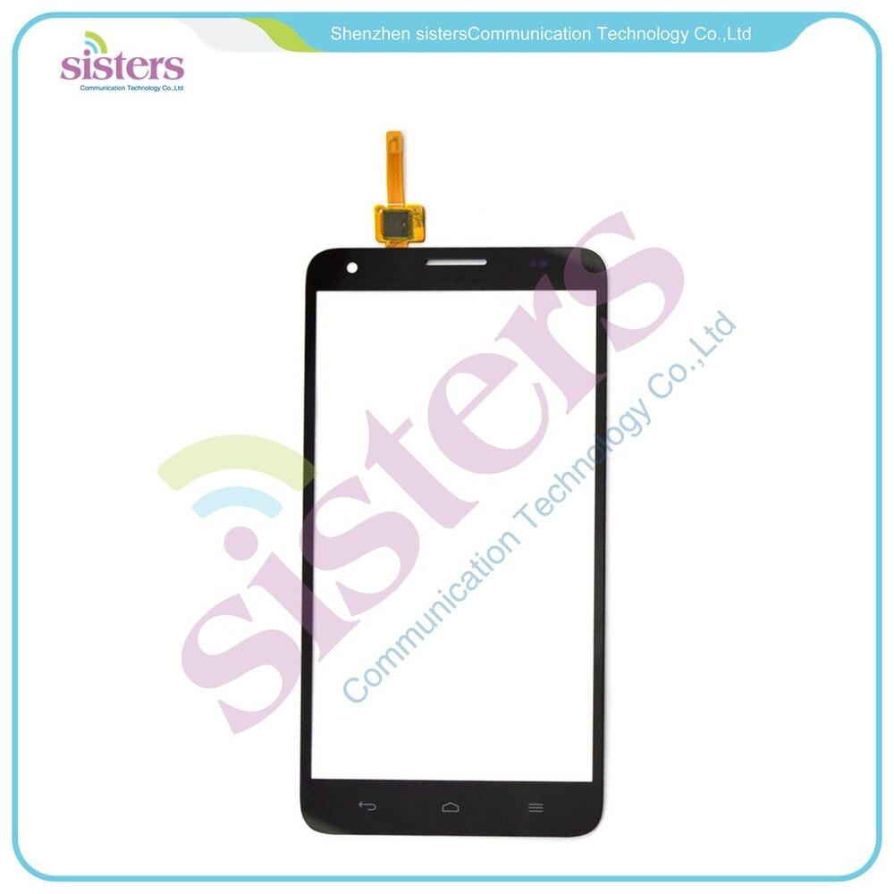 1 Uds. Reemplazo Original para Huawei Honor 3X G750 negro blanco digitalizador de vidrio de pantalla táctil para Huawei teléfono celular con pieza libre
