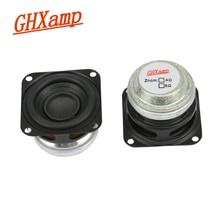 GHXAMP 1.5 pouces 10W Portable Bluetooth haut-parleur 4OHM gamme complète haut-parleur Mini néodyme mi Woofer Home cinéma bricolage HIFI 2 pièces