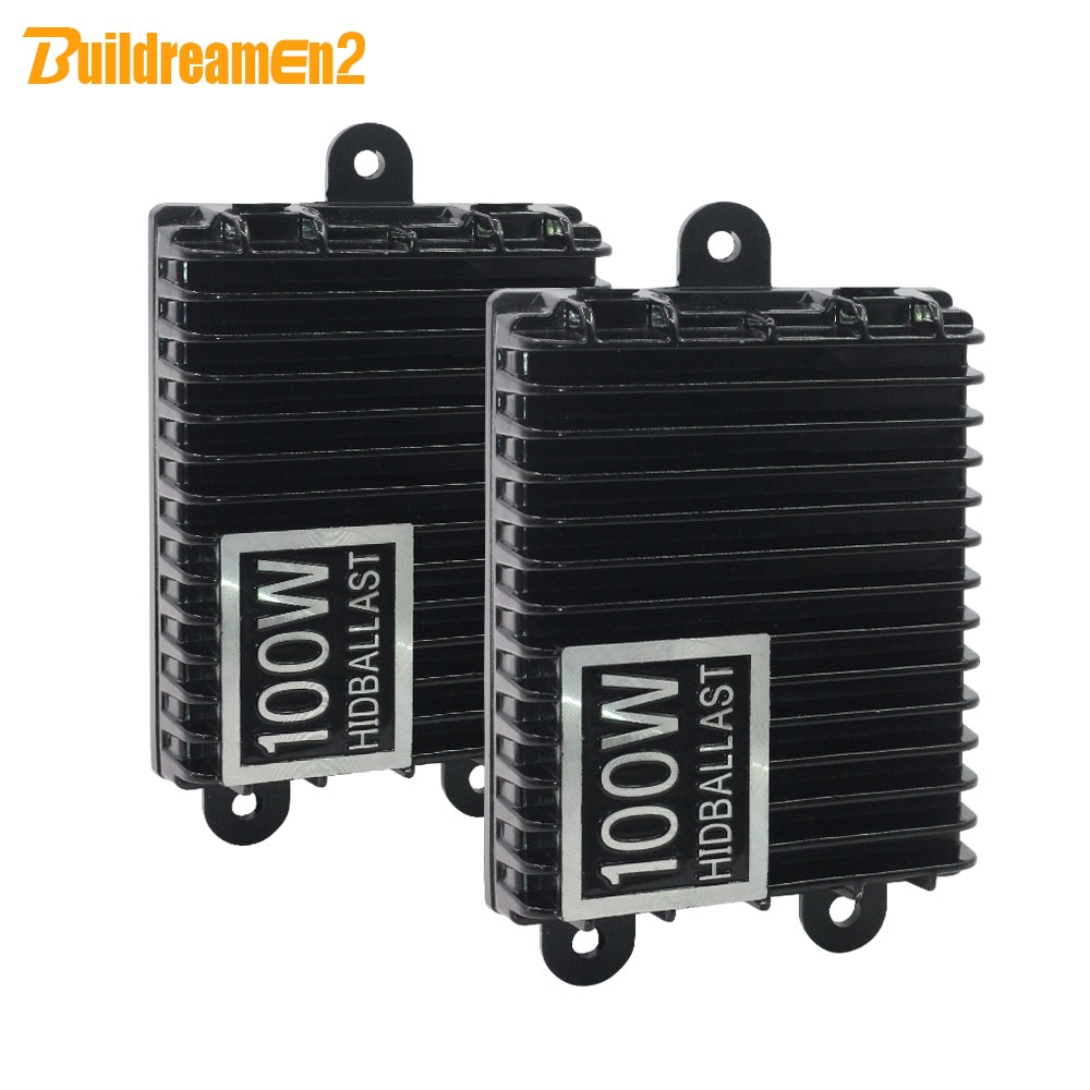 Buildreamen2 100 W de Alta Potência AC Xenon Lastro HID Digital Lastro Ignição Bloco para o Carro Lâmpada Xenon H1 H3 H4 H7 H8 H11 9005 9006