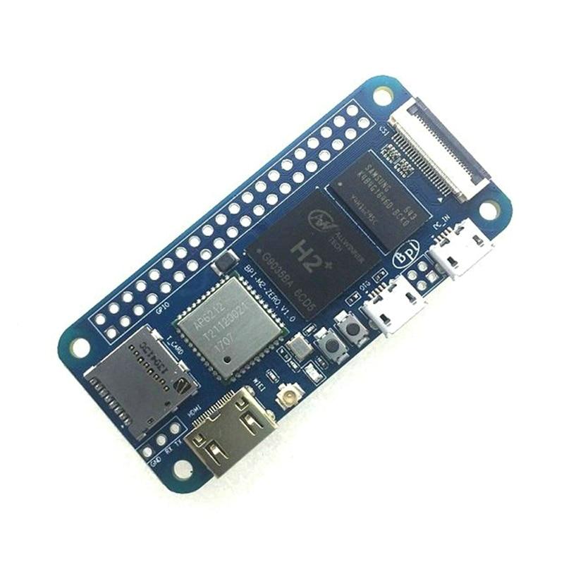 Banana Pi M2 Zero с открытым исходным кодом четырехъядерный Singe Board Bpi-M2 0 С 512 Мб оперативной памяти 1080P HD видеовыход