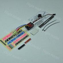 Controlador electrónico de velocidad ESC cepillado Hobbywing QuicRun 1625 ESC para coche de control remoto 118 116