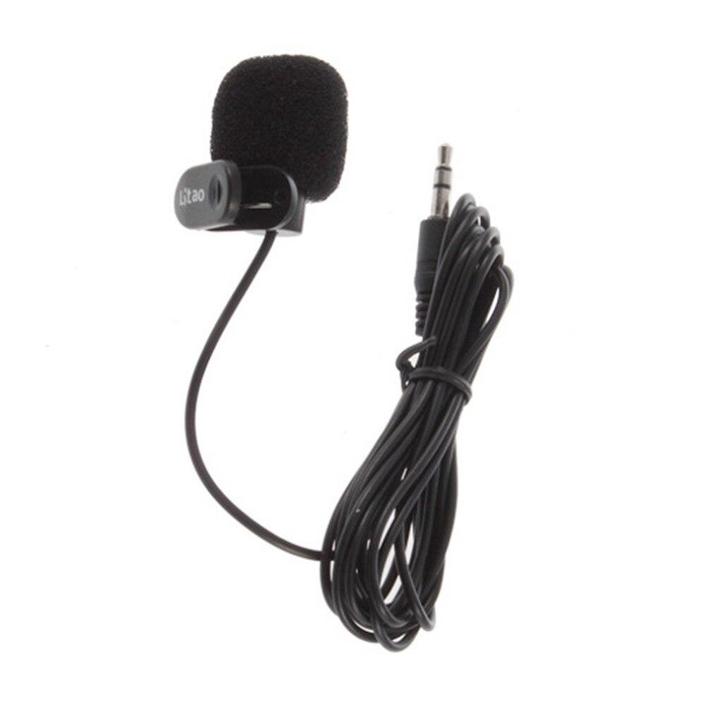 ¡Producto nuevo! Micrófono de manos libres microfone negro de 3,5mm para PC, portátil de escritorio, venta al por mayor