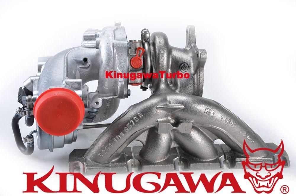 Kinugawa, turbocompresor mejorado K04-064, 5304-988-0064 para AUDI S3 / Golf R 400HP 2,0 T 4mm más grande