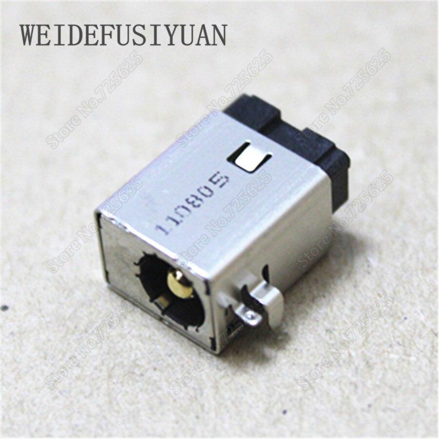 Toma de corriente CC de 2,5mm enchufe del puerto del cargador para Asus G46VW G46VR G46E U24E U36JC G46 G46V
