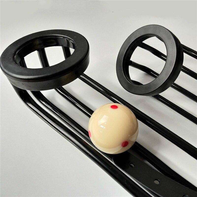 Chapeado orbital mesa de bilhar caindo bola pista e bolso líquido preto oito universal bilhar acessórios suprimentos
