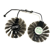 Palit gtx1070 gtx1080Ti GPU VGA ventilateur de refroidissement alternatif pour GeForce GTX1080 Ti GTX 1070/1080 Grahics carte de refroidissement comme remplacement