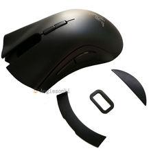Myszy Top Shell/pokrywa/obudowa i stóp i kabel dla RZ DeathAdder Elite Chroma wielu kolorów ergonomiczna mysz do gier 16000 DPI