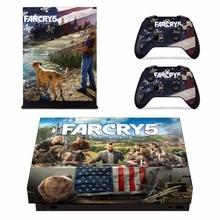 Pegatina de vinilo Far Cry 5 Farcry 5 para Microsoft Xbox One X Console y 2 controladores para Xbox One X Skins