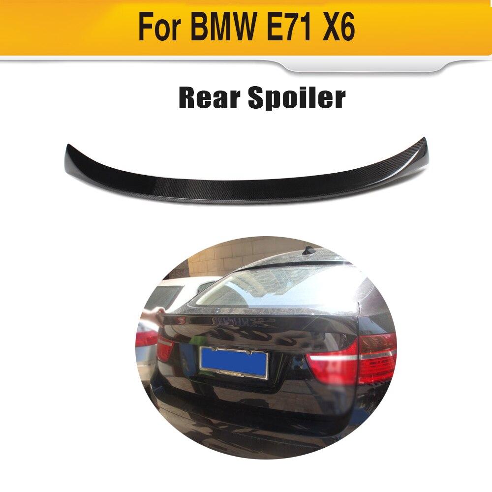 Alerón trasero de fibra de carbono para BMW E71 X6 2008-2013