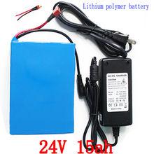 Batterie 24V 24V 15AH batterie de vélo électrique batterie au Lithium 24V 15ah avec chargeur 29.4V 2A gratuit