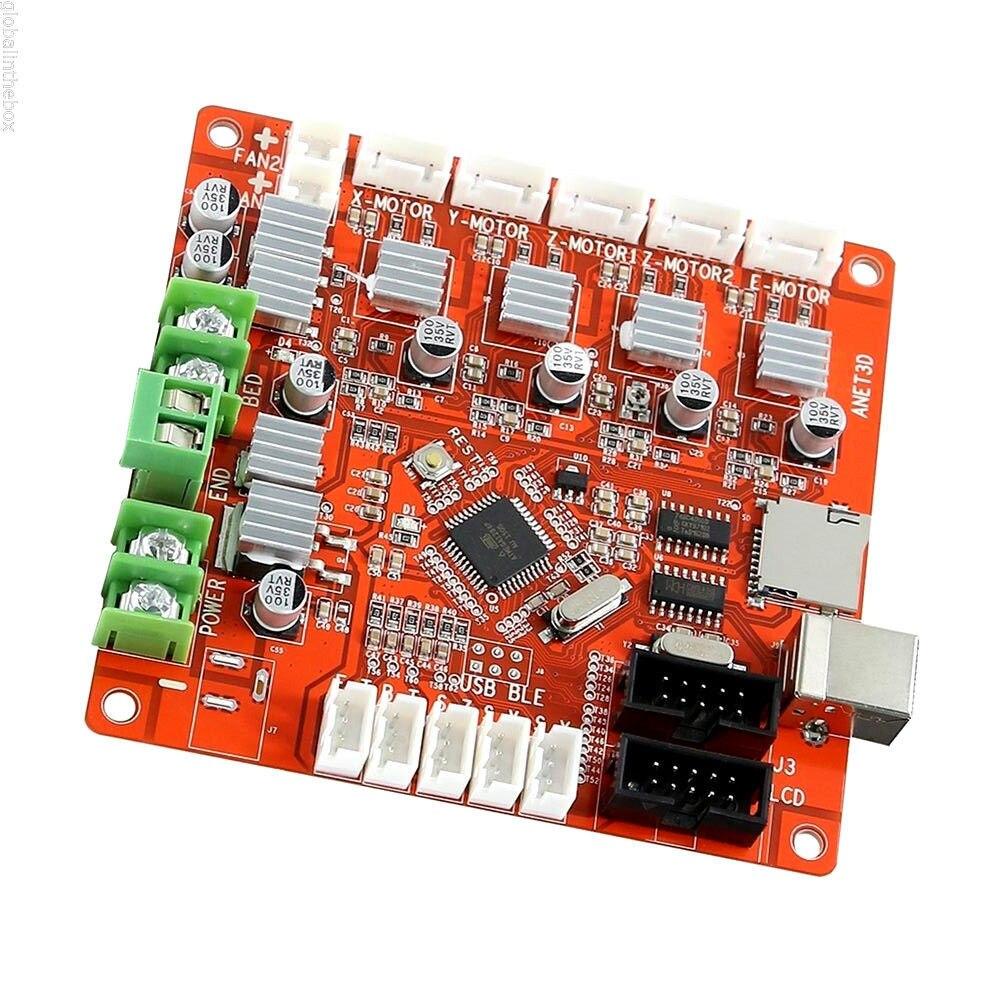 Anet A6 A8 e10 E12 V2.0 تحكم اللوحة الأم اللوحة الأم ل DIY الذاتي الجمعية سطح المكتب 3d طابعة Prusa i3 RepRap Ramps1.4 أجزاء