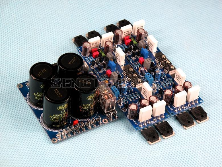 لوحة مضخم صوت استريو AM-60 HIFI ON0302 0281 ، لوحة مقوم ومضخم طاقة ، لوحة منتهية
