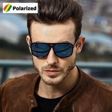 JackJad 2018 gafas De Sol polarizadas cuadradas clásicas De moda De Aviador gafas De Sol De diseño De marca para conducir para hombres gafas De Sol A523