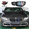 Grille de course avant F06 F12 F13 style M pour BMW série 6 630i 640i 650i 2011 – 2016 noir mat/noir brillant/3 couleurs