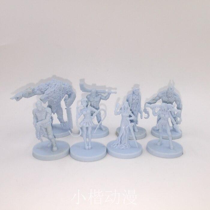 Nuevos accesorios de resina fundido a presión modelo Coolminiornot para juegos de mesa otros 7 Sin Aliens 7 Sin 07 envío gratis