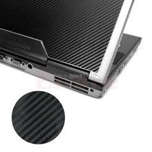 "3D Carbon Fibre Skin Cover Decal Wrap Sticker Case For 17"" Laptop Notebook PC Drop ship"