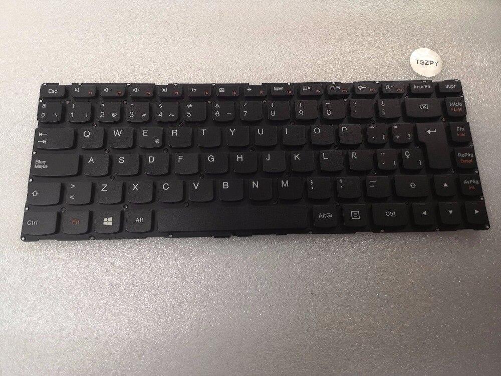 لوحة مفاتيح إسبانية ، لجهاز Lenovo Ideapad 100S-14IBR 300S-14ISK 300S-14ISK 500S-14ISK ، جديد ، SP