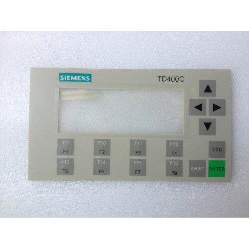 لوحة مفاتيح غشاء, 6AV6640-0AA00-0AX0 6AV6 640-0AA00-0AX0 لإصلاح simador TD400C ، لها في المخزون