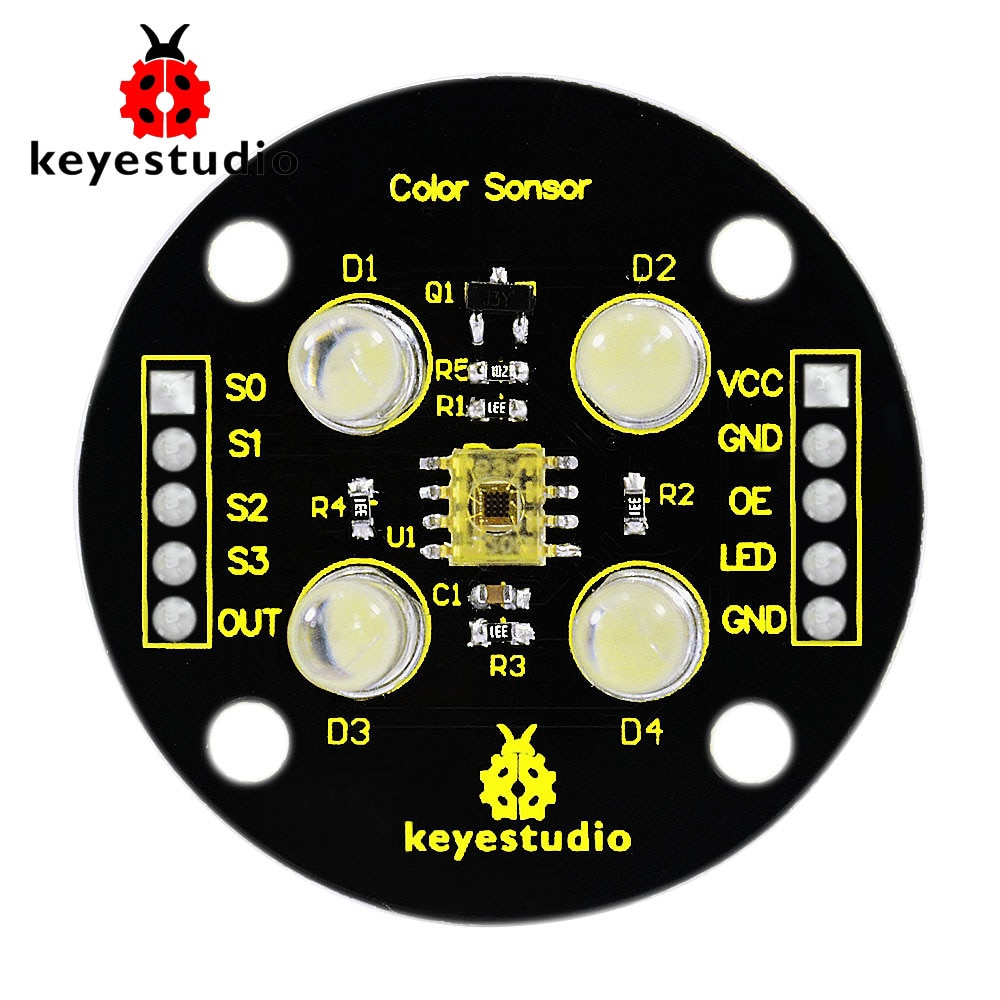 Keyestudio TCS3200 модуль детектора датчика ра