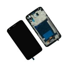 ЖК-дисплей для LG Optimus G2 VS980 Verizon жк-дисплей кодирующий преобразователь сенсорного экрана в сборе с рамкой