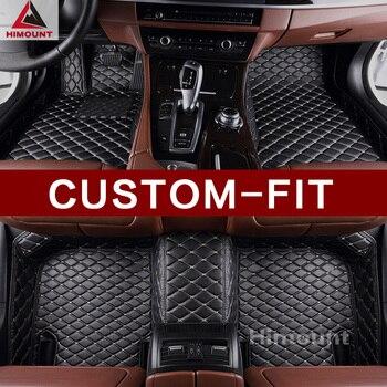 Customized car floor mat specially for VW Volkswagen Eos convertible UP Tiguan Touareg Touran Passat luxury car styling carpet