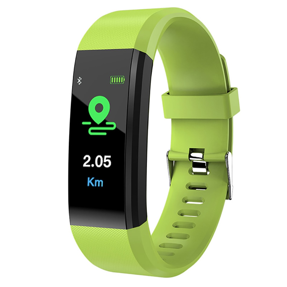 Sports watch fitness smart bracelet Men Women Heart Rate blood pressure watches Calories Pedometer f