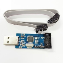 10 pièces nouveau USBASP USBISP AVR programmeur USB fai USB ASP ATMEGA8 ATMEGA128 Support Win7 64 K