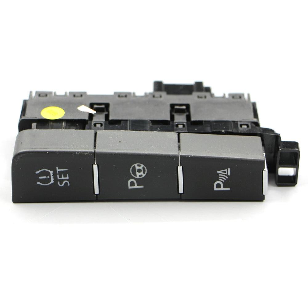 Botón de control de presión de los neumáticos del interruptor de asistencia de estacionamiento para aplicar al Golf 7 MK7 5GG 927 238 E 5GG927238E