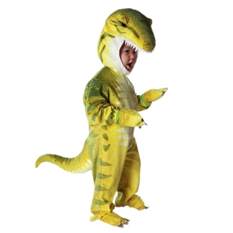 Niños disfraz de T-Rex Purim celebrando Cosplay Dino disfraces de Halloween para niño niña
