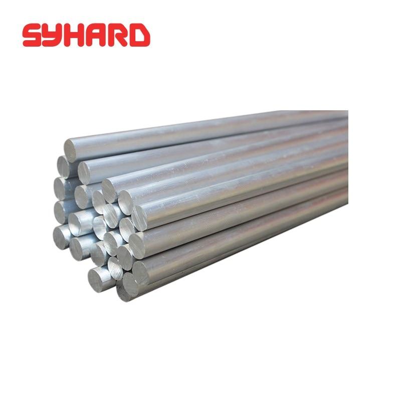 Barra redonda sólida de aluminio y Metal de 7075, barra de aleación...