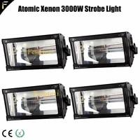 dj xenon flash light stroboscopic atomic 3000 watt stroke light for party disco strobes spots