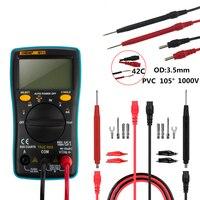 New Arrive AN8002 Digital Multimeter AC/DC Voltage Ohm Current Meter 6000 Counts AAA Multimeter