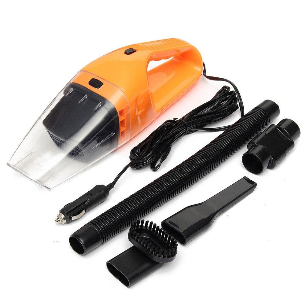Aspiradora de coche 120W 12V supersucción aspiradora de doble uso húmedo y seco para coche