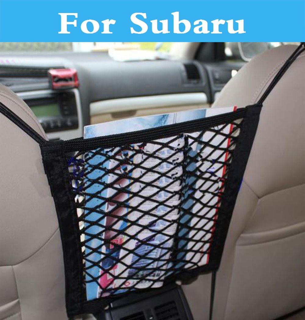 Car Elastic Mesh Net trunk Bag Luggage Holder Pocket for Subaru STi Legacy Levorg Lucra Outback Pleo R1 R2 Trezia Tribeca WRX XV