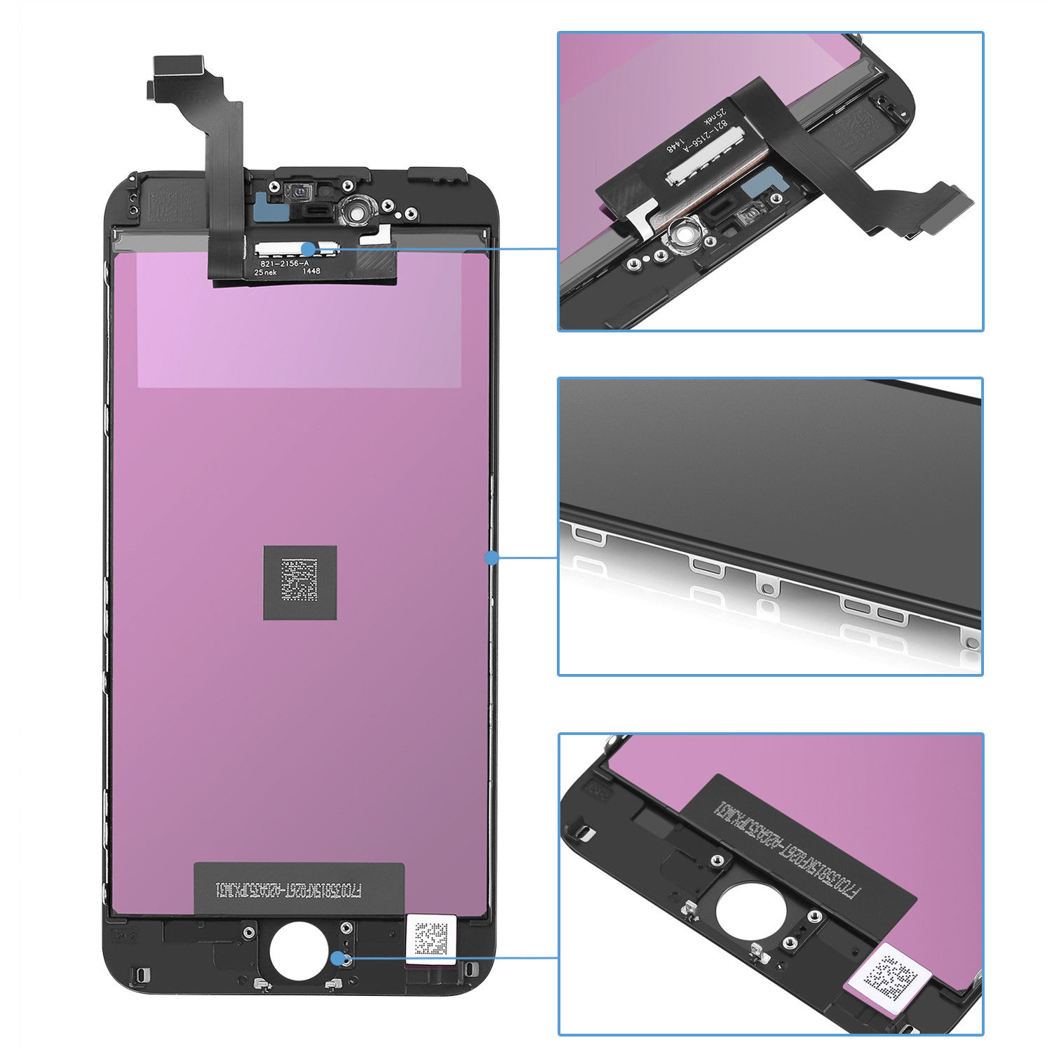 5 PCS LCD For Iphone 6P LCD Screen Display Touch Digitizer Assembly For iphone 6 plus Screen High Quality for iphone 6 Plus lcd enlarge