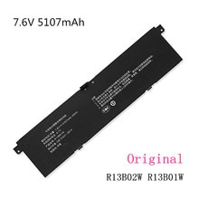 7.6V 39Wh 5107mAh R13B01W R13B02W new R13B01W R13B02W Laptop Battery For Xiaomi Mi Air 13.3