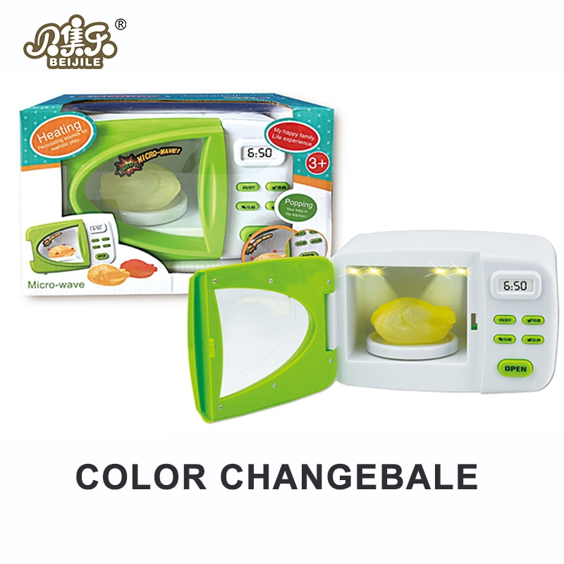 Моделирование детская кухня мини микроволновая печь дома ролевые игры