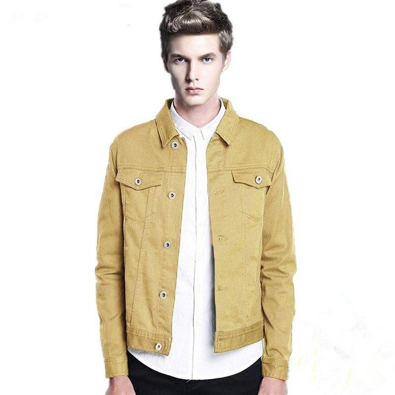 Фото - Куртка мужская джинсовая короткая, хлопок, однотонная, модная повседневная верхняя одежда, джинсовая одежда, весна-осень scout джинсовая верхняя одежда