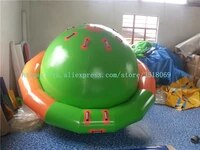 sell 3 meters diameter water flying saucer water inflatable ufo crazy spinning water top
