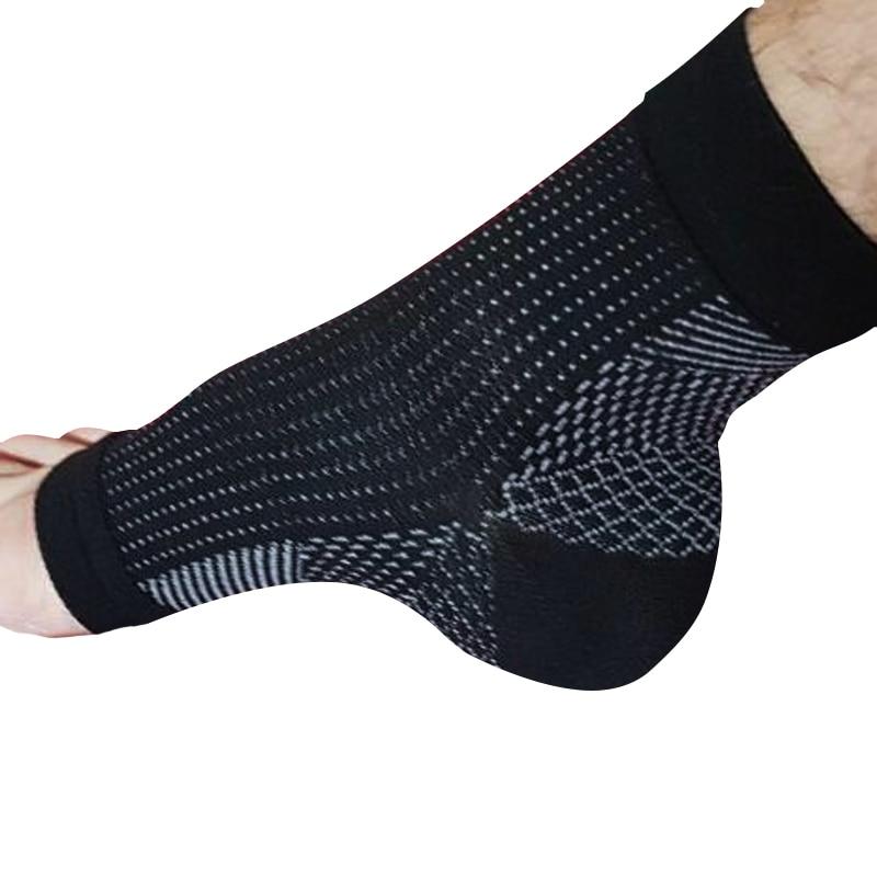 Comodidad pie Anti fatiga manga de compresión aliviar la hinchazón varicidad mujeres hombres Anti-fatiga calcetines 2019