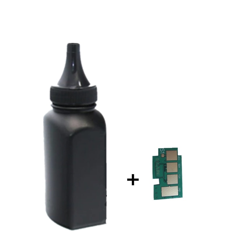 toner Powder + chip MLT-D101S d101s toner cartridge for samsung SCX-3400 SCX-3405 SCX-3405F SCX-3405FW SCX-3407 SF-760P printer