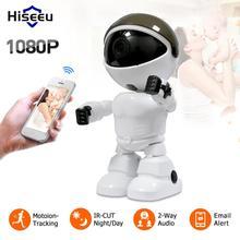Hiseeu-caméra HD IP sans fil 2 mp   Caméra Robot Wifi 1080P, caméra de Vision nocturne Wifi, caméra réseau IP, vidéosurveillance, audio bidirectionnel