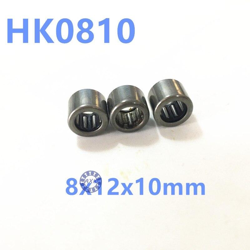 Rodamiento de agujas HK0810 8x12x10 TLA810Z HK810 para eje de 8mm