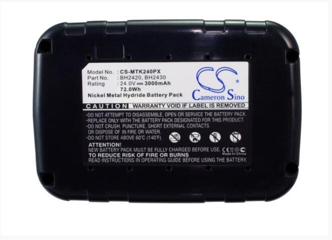 Cameron Sino 3000mAh batterie pour MAKITA BDF460 BDF460SF BDF460SH BDF460SHE BDF460SJE BDF460WA BDF460WAE BHP460 BHP460SF