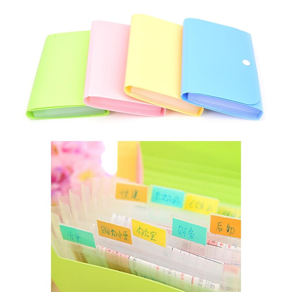 12 слойный файл папка для документов сумка кошелек чеков держатель карт чехол