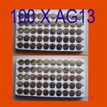 100 pièces AG13 piles bouton AG 13 G13 LR44 A76 N navire par avion