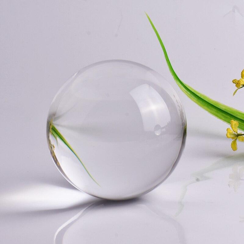 Bola De Cristal para fotografía, ornamento FengShui De cuarzo, Bola mágica De...